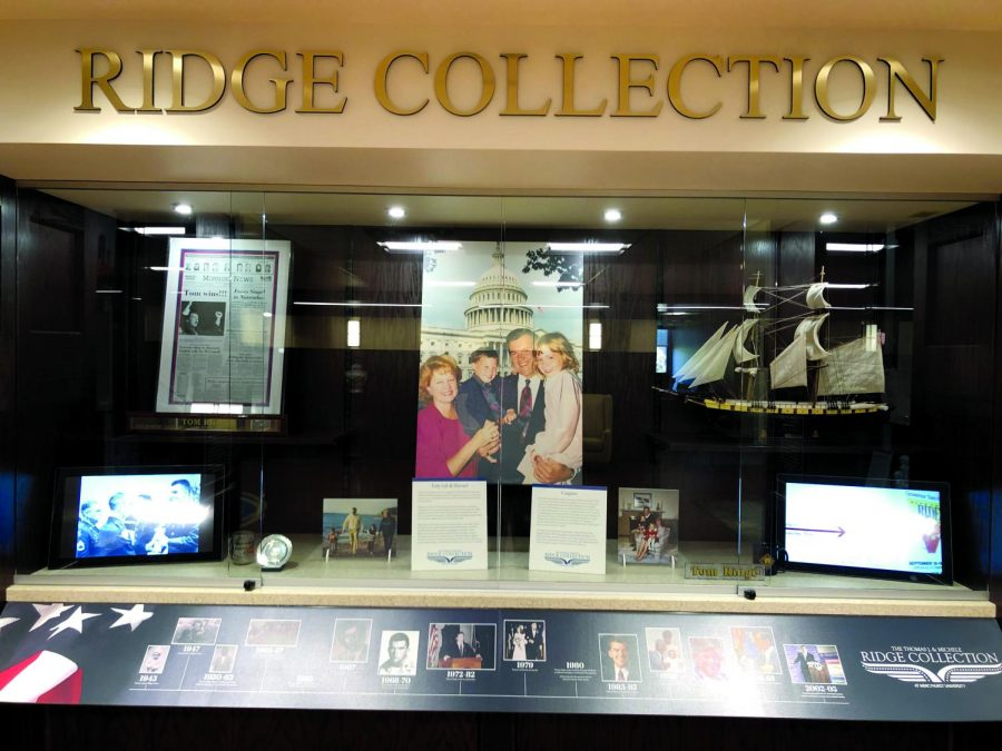 New+library+display+showcases+legacy+of+Governor+Tom+Ridge