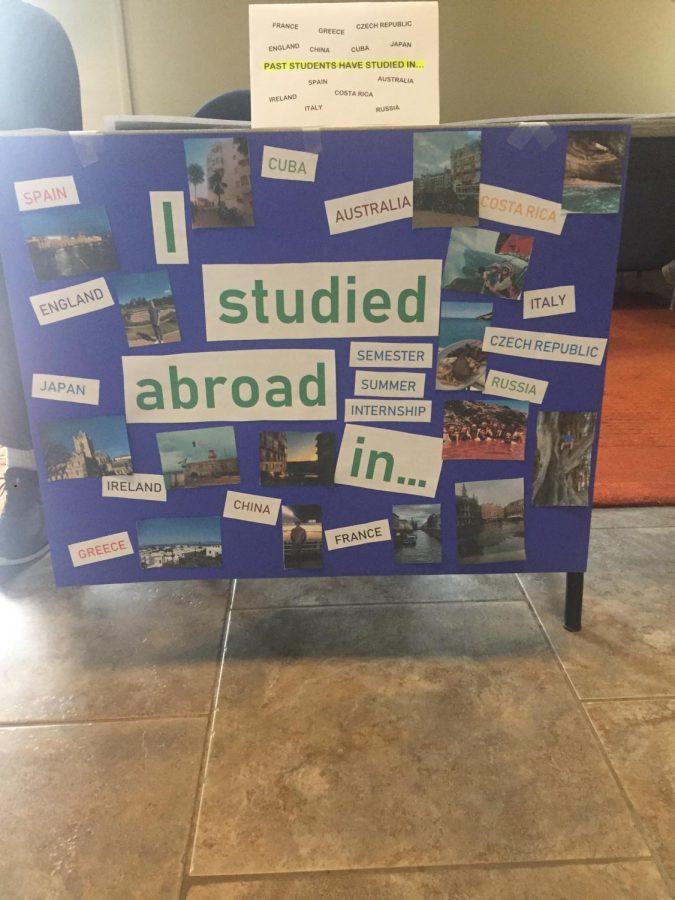 Hurst hosts study abroad fair