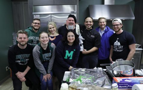 Hospitality seniors judge 'Chopped Challenge'