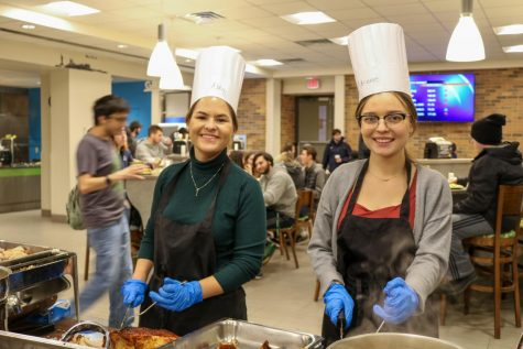Hurst is home for Thanksgiving break