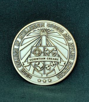 Challenge coins for Intel grads