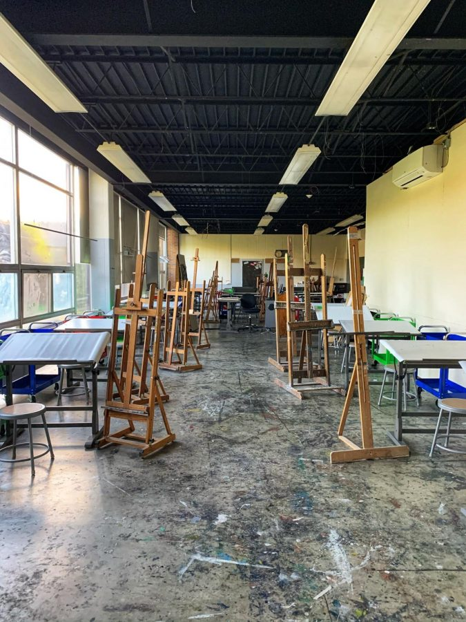 Art+studios+receive+makeover