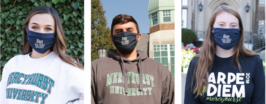 Mask-up+fundraiser+provides+Mercyhurst+masks+to+donors