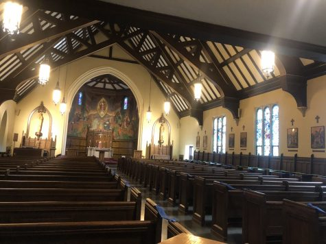Mercyhurst chapel hosts reflection hours