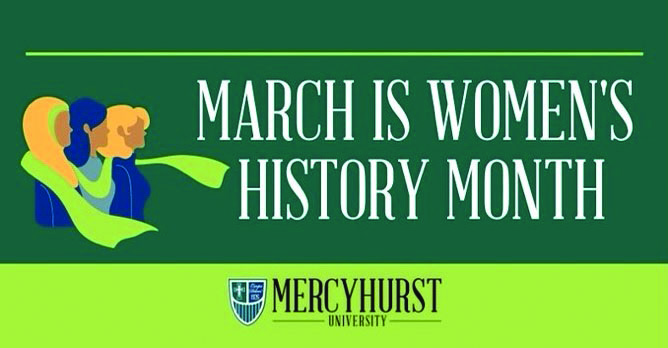 Celebrating Women's History Month  with HurstHirstory26 social media