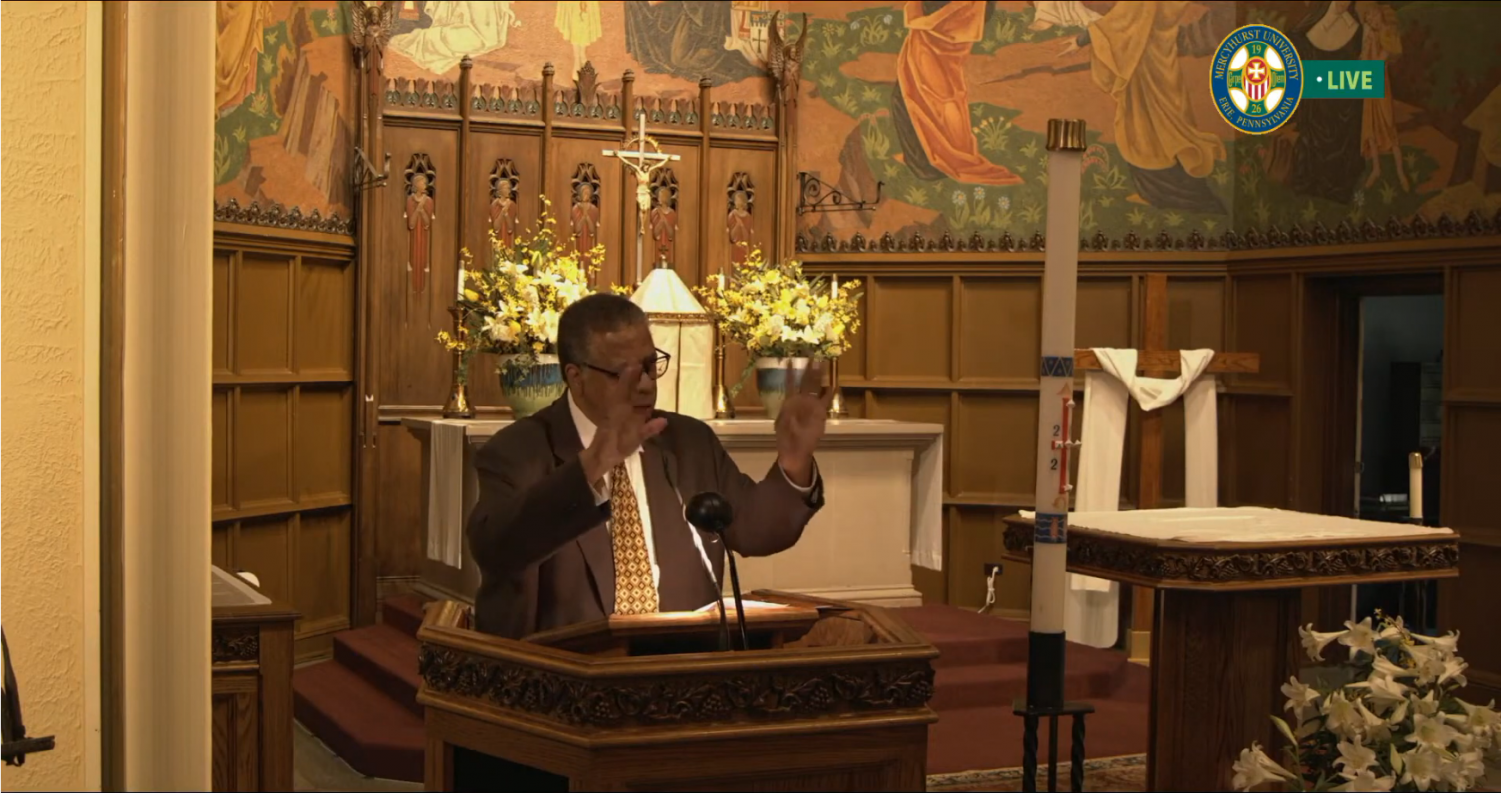 """""""Justice through Mercy"""" prayer service celebrated with help of guest pastor"""