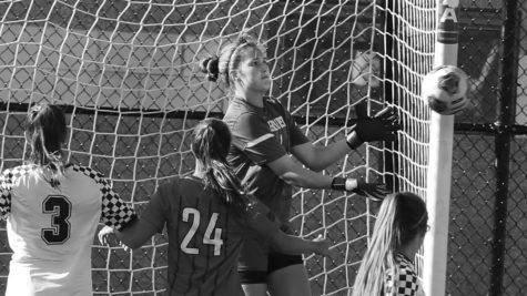 Women's soccer ties against rival Gannon Knights