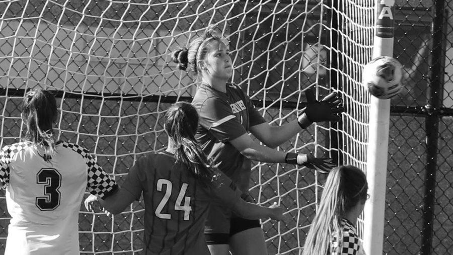 Women%E2%80%99s+soccer+ties+against+rival+Gannon+Knights