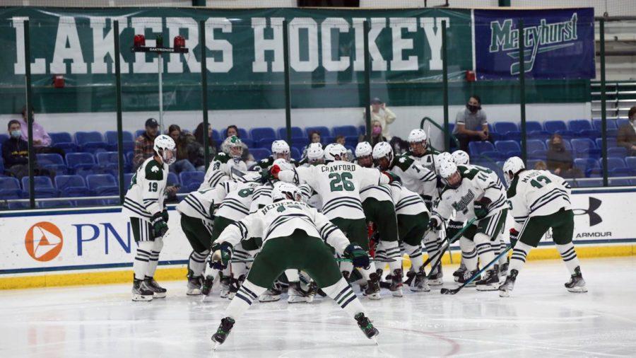 Men's ice hockey defeats Holy Cross