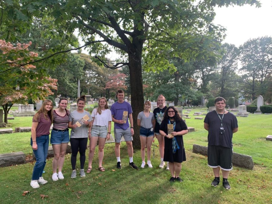History Club embarks on Erie's African-American heritage trail