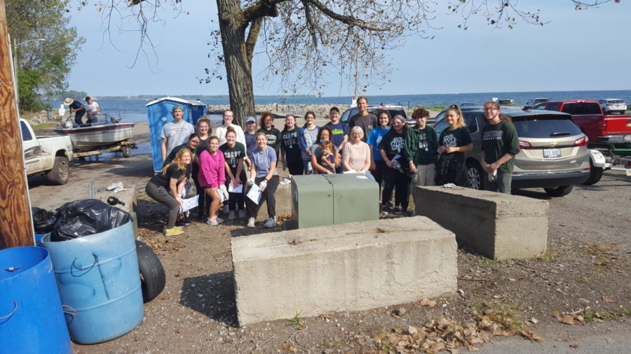 MU helps keep Erie's coasts clean