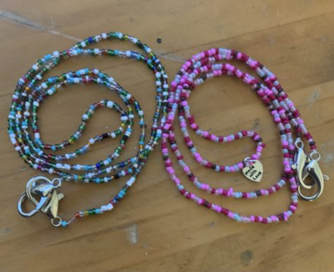 Laker Side Hustles: Masks Chains by Genevieve Rose B.