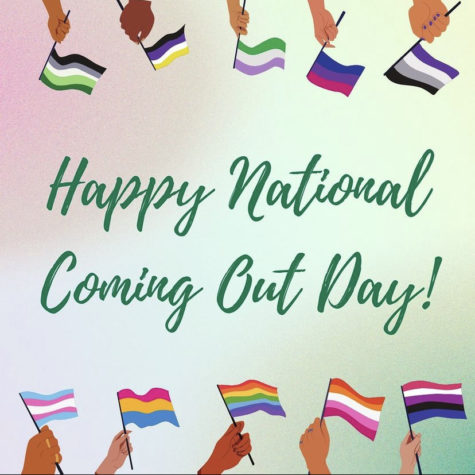 Oct. 11 marks National Coming-Out Day