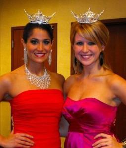 Miss Pennsylvania, Shannon Doyle and fellow contestant Brittani DeVore