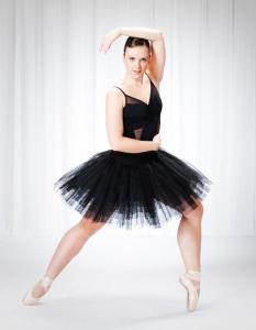 Contributed photo/Rick Klein: Mercyhurst dance major Jessica would like to someday perform in either a ballet or contemporary company.