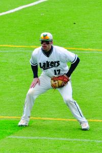 Tyler Stauffer photo: The baseball team has been off to a strong start thanks in part to the solid play of senior Kevin McCall, above.