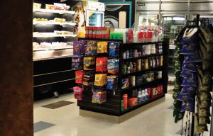 Tyler Stauffer photo: The C-Store located in Warde Hall is open from 4 to 11 p.m. every day.