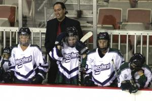 File photo by Ethan Magoc: With the arrival of Penn State to the CHA, Coach Michael Sisti will have a whole new challenge awaiting the Lakers in the 2012-13 season.