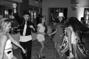 Garrett Erwin photo: Students embrace the 1920s theme of Mercyhurst Student Government and Student Activities Council's annual Fall Ball this past Friday evening.