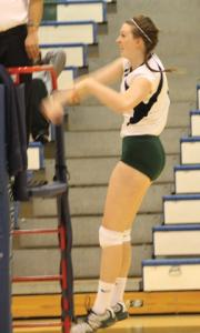 Sports Information photo: Veronica Crosby will be a part of a promising 2012-13 volleyball team.