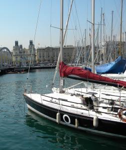 Port of Barcelona, Spain.