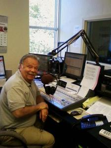 Contributed photo: Geary takes charge of Mercyhurst's radio station, Jazz FM.