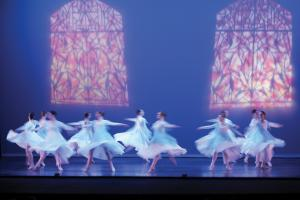 Jill Barrile photo: The Liturgical Dance Ensemble was one of many Erie-based groups to perform this weekend.