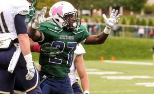 During Mercyhurst's homecoming game on Saturday, Oct. 4, the Lakers defeated Clarion University in a 28-0 shutout. Contributing: hurstathletics.com photo