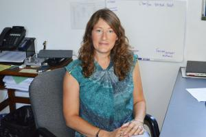 Casey Bleuel  photo: Dyan Jones will lead new physics department in the winter.