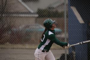 Sports Information photo: Senior Samantha Eimers' high performance is key for Mercyhurst to have a successful year. She leads the team in seven offensive categories.