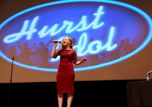 "Nhi Tran photo: Maggie Doherty sings Adele's ""One and Only"" in the final performance at this year's Hurst Idol."