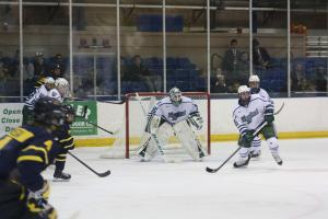 The 2-1 Mercyhurst men's hockey team took on the 3-0 Merrimack Warriors on Friday, Oct. 24, and Saturday, Oct. 25. Friday's game: Ashley Favata