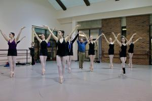 Salina Bowe photo: The Mercyhurst University Dance Department presents Beyond Words III, a mix of several styles of ballet dances that opens on Friday, Feb. 28, for a preview performance in the PAC.