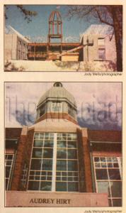 Jody Mello/Merciad file photo: Before and after construction shots on the Audrey Hirt Academic Center.