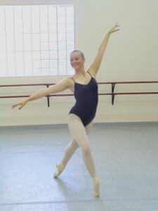 Liz Zurasky Photo: Juliana Franks has a concentration in pedagogy within the dance department. After pursuing a performance career, she hopes to attend graduate school for art therapy.
