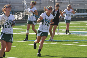 Ethan Magoc file photo: Senior Ally Keirn will be leaned on heavily as the Lakers try to rebound from a tough start. She leads the team this season with nine goals and 12 total points.