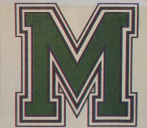 Merciad file photo: As of October 2002, Mercyhurst's new athletic logo