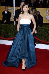 media1.onsugar.com photo: Cotillard kept it classic on the red carpet in Dior.