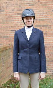 Casey Bleuel photo: Sophomore Molly Card will advance to the Zone Equestrian Competition in New York this April.