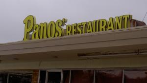 Panos offers great confort food at a reasonable price.