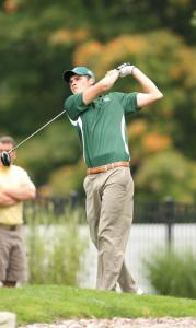 Sports Information photo: The men's golf team is having its best season in history, en route to an NCAA tournament birth