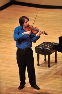 Tyler Stauffer photo: Rotberg performed a piece by Bach, that showcased his technique and artistry.