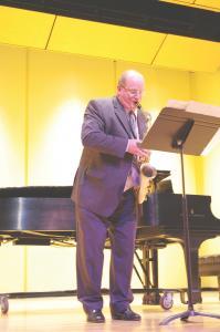 Zachary Dorsch: Allen Zurcher is an active member of the Erie jazz community.