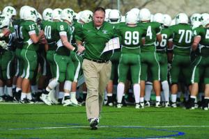 Mercyhurst College head football coach Marty Schaetzle led the Lakers to their most  successful season ever.