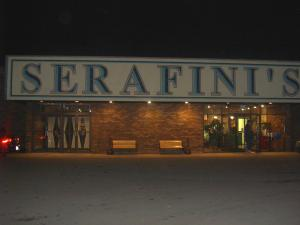 Serafini's Restaurant is a great restaurant and it's only ten minutes away from Mercyhurst College
