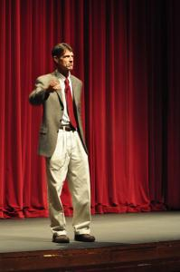 "Tyler Stauffer photo: H.W. Brands gave the lecture ""Presidents in Crisis: FDR and Obama"" on Wednesday, Sept. 26. This lecture is part of a yearlong series at Mercyhurst College."
