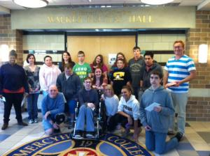 Contributed photo: Special Education majors helped out those with disabilities.