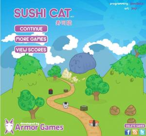Sushi Cat is a fun, one-time-play game.