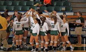 Contributed Photo: The Mercyhurst volleyball team traveled to West VIrginia and played four matches this passed weekend.