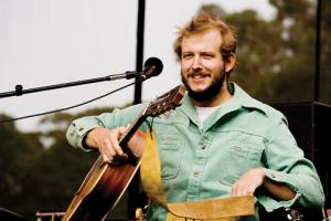 Dooce.com photo: John Vernon is the talent behind the indie folk band Bon Iver. The singer/songwriter founded the band in 2007 after a bad breakup with his girlfriend and band. Other band members include Michael Noyce, Sean Carey, and Matthew McCaughan.